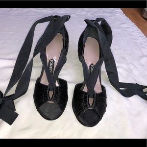 Tom Ford Satin Lace Up Pumps never worn